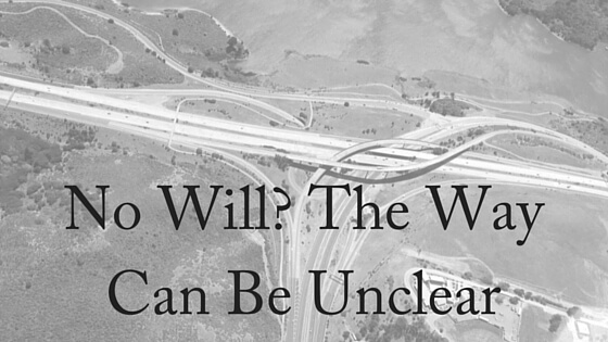 No Will- The Way Can Be Unclear