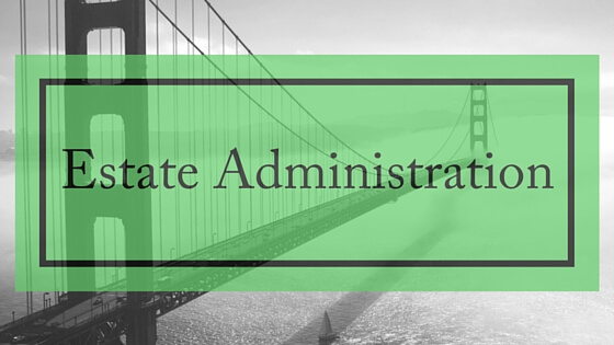 executors, estate administration