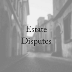 What is an Estate Dispute?