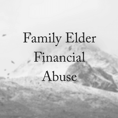 Financial Elder Abuse Prevention