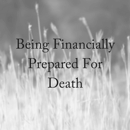 Being Financially Prepared for Death