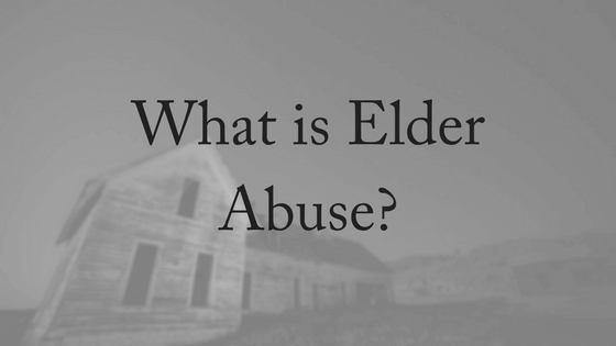The Fight Against Elder Abuse Continues
