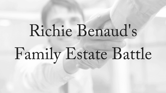 Richie Benaud's Family Estate Battle