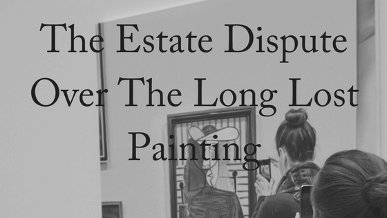 The Estate Dispute Over a Long Lost Portrait